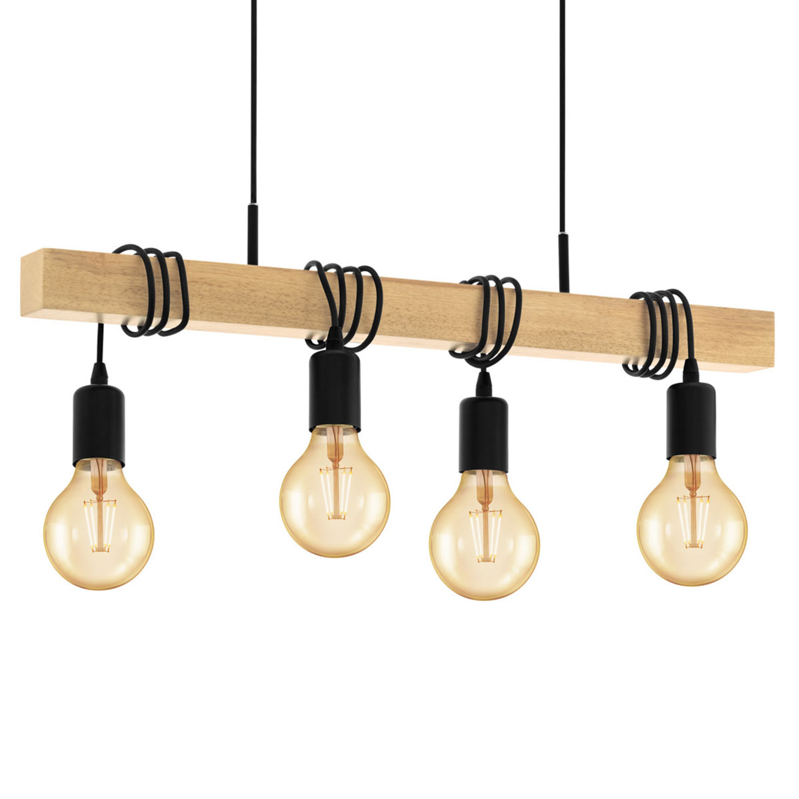Hanglamp Townshend met 4 lampen