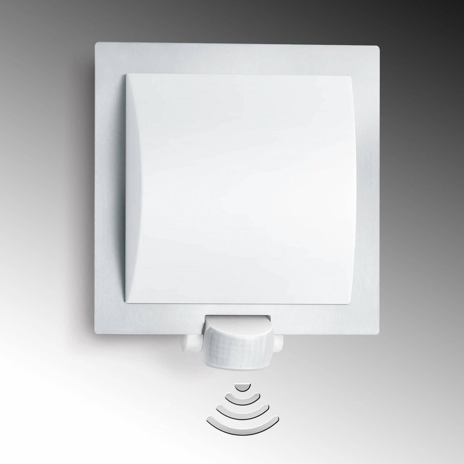 STEINEL L 20 Außenwandleuchte Sensor, edelstahl