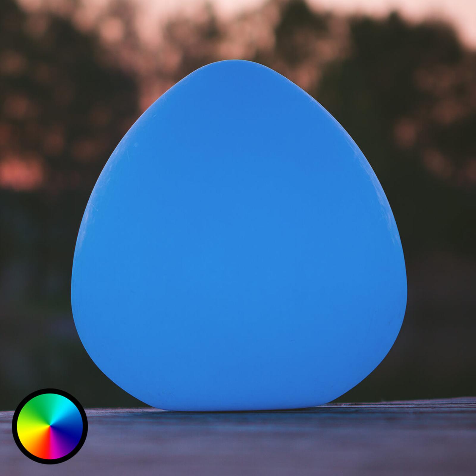 Stone L - LED-dekorationslampe, styrbar via app