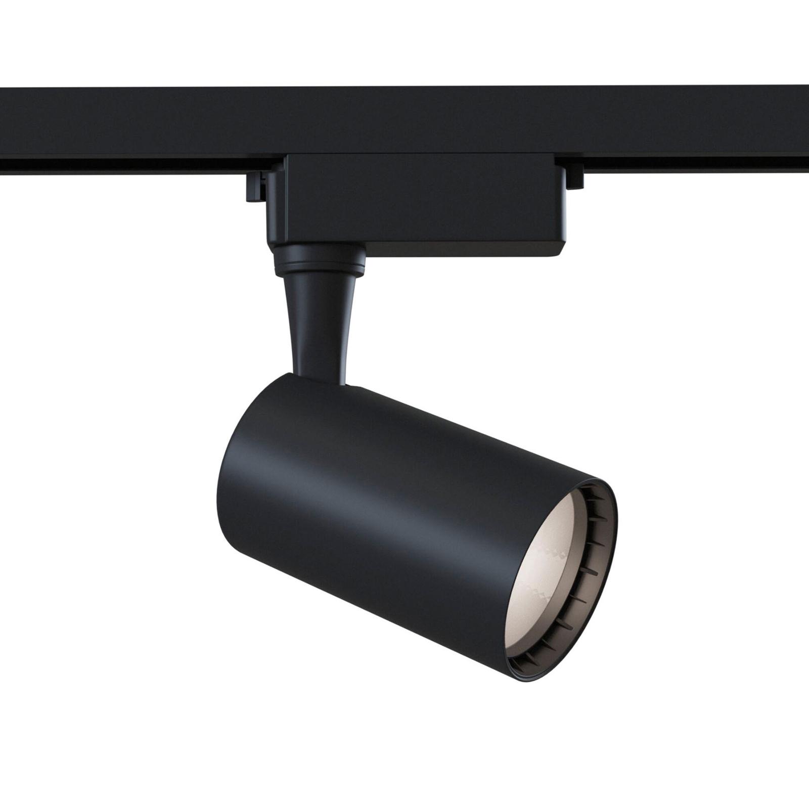 1-fazowy spot Track LED 3000K 6W, czarny