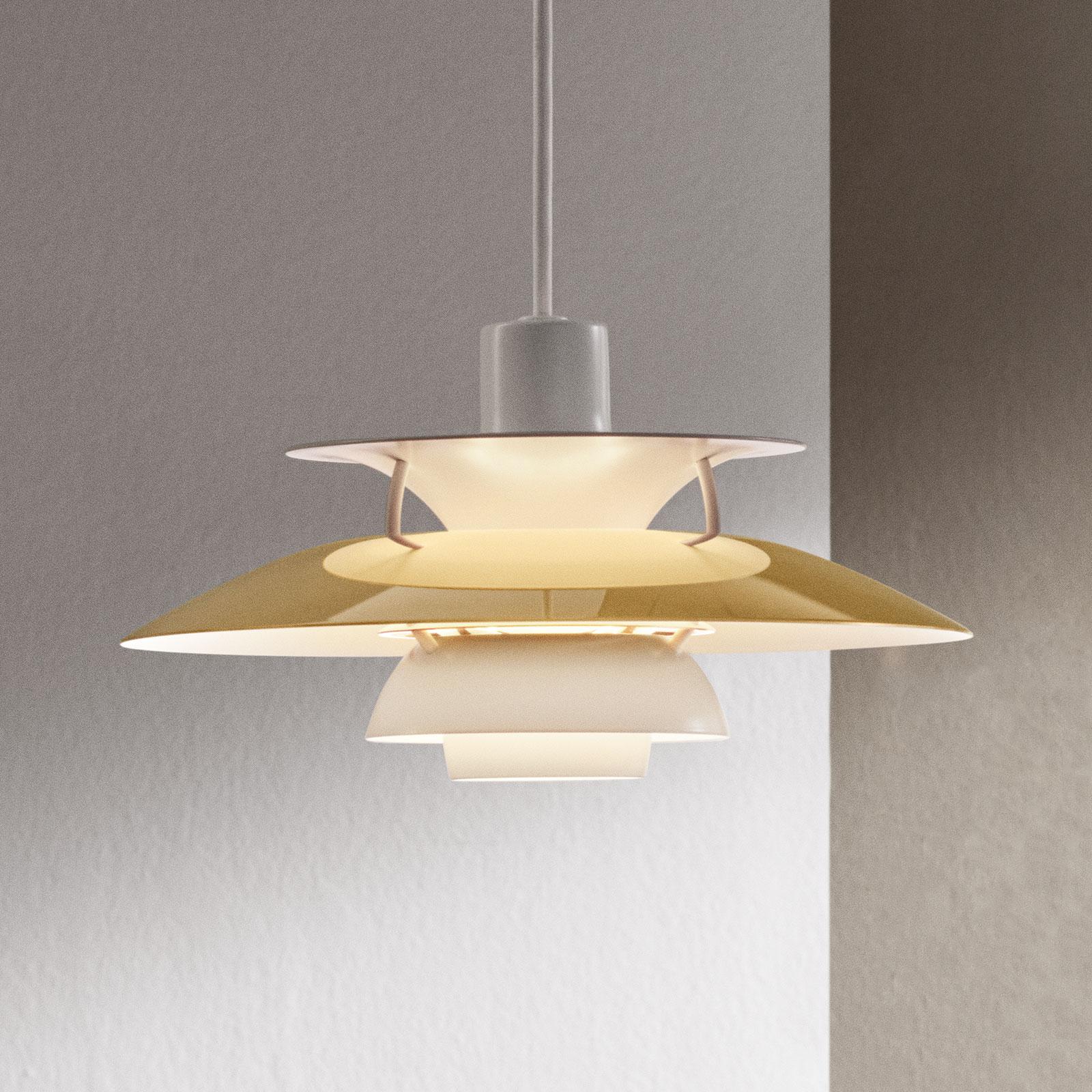 Louis Poulsen PH 5 Mini messing hanglamp Ø 30 cm