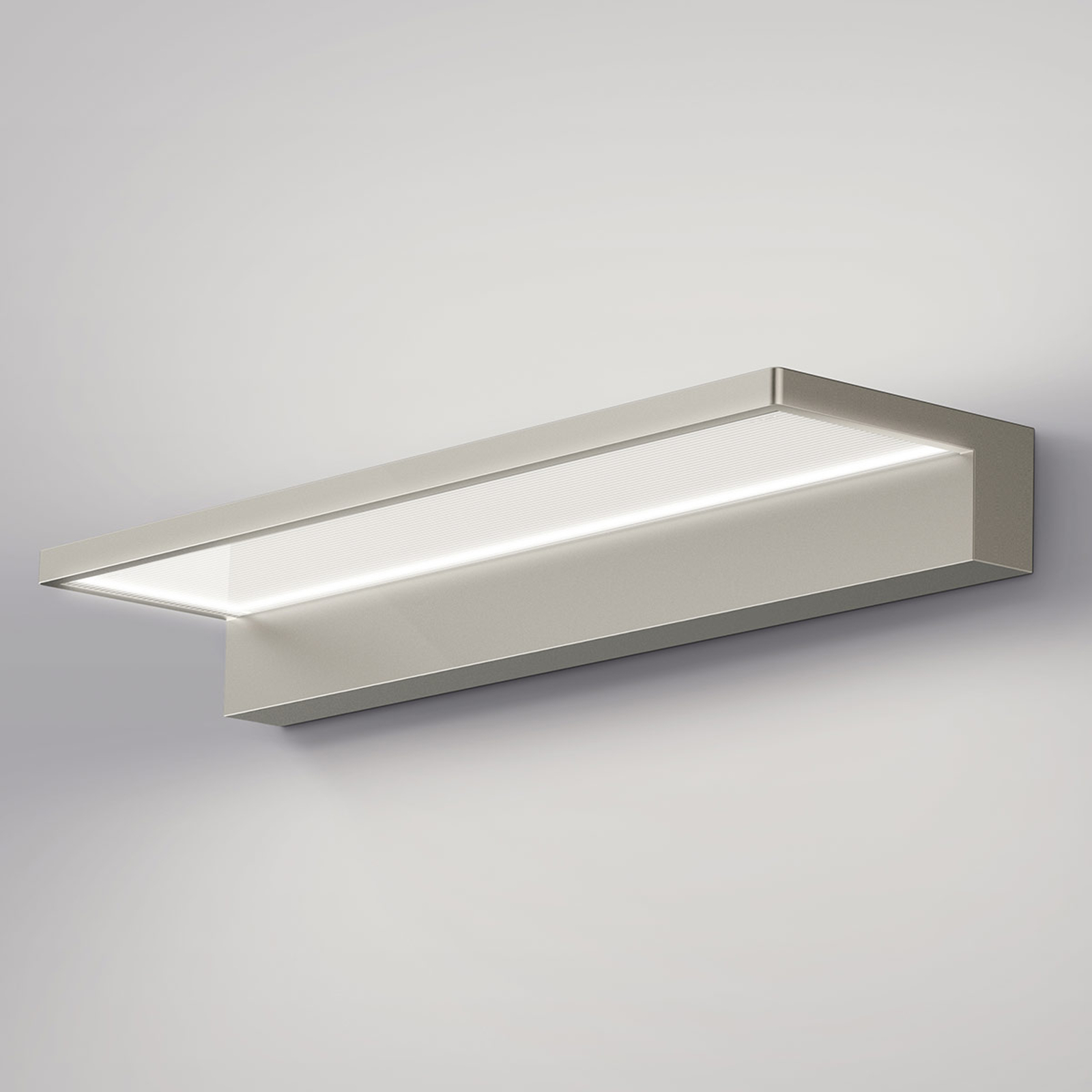 serien.lighting Crib Wall applique LED, acier inox