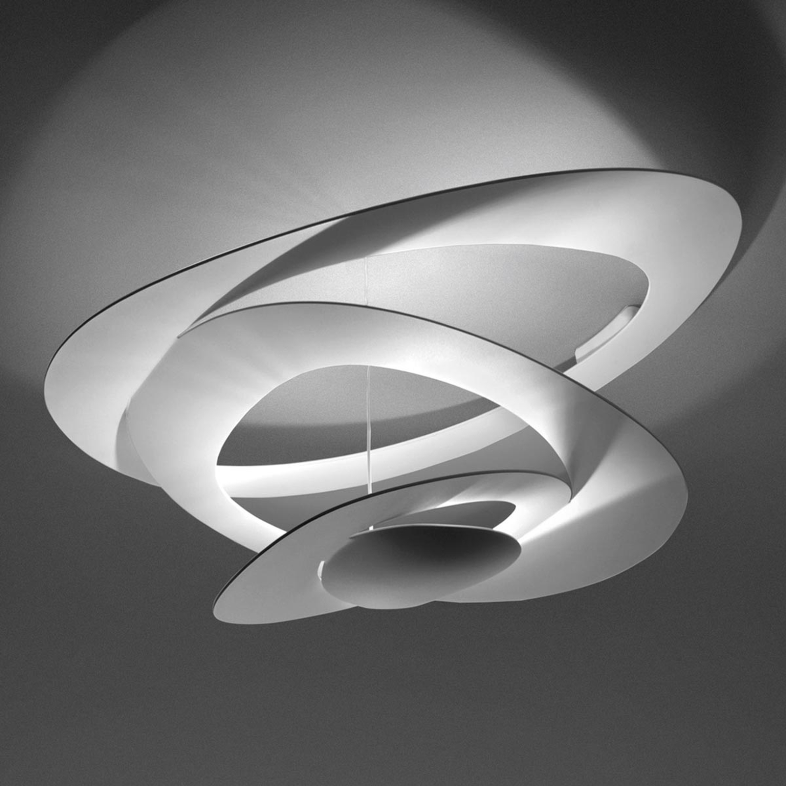 Pirce Mini - LED væglampe i hvid, 2.700 K