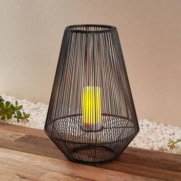 Lindby Nelina lámpara decorativa solar, alto 51cm