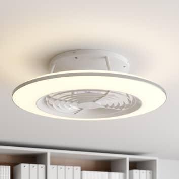 Arcchio Fenio ventilatore a pale con LED, bianco