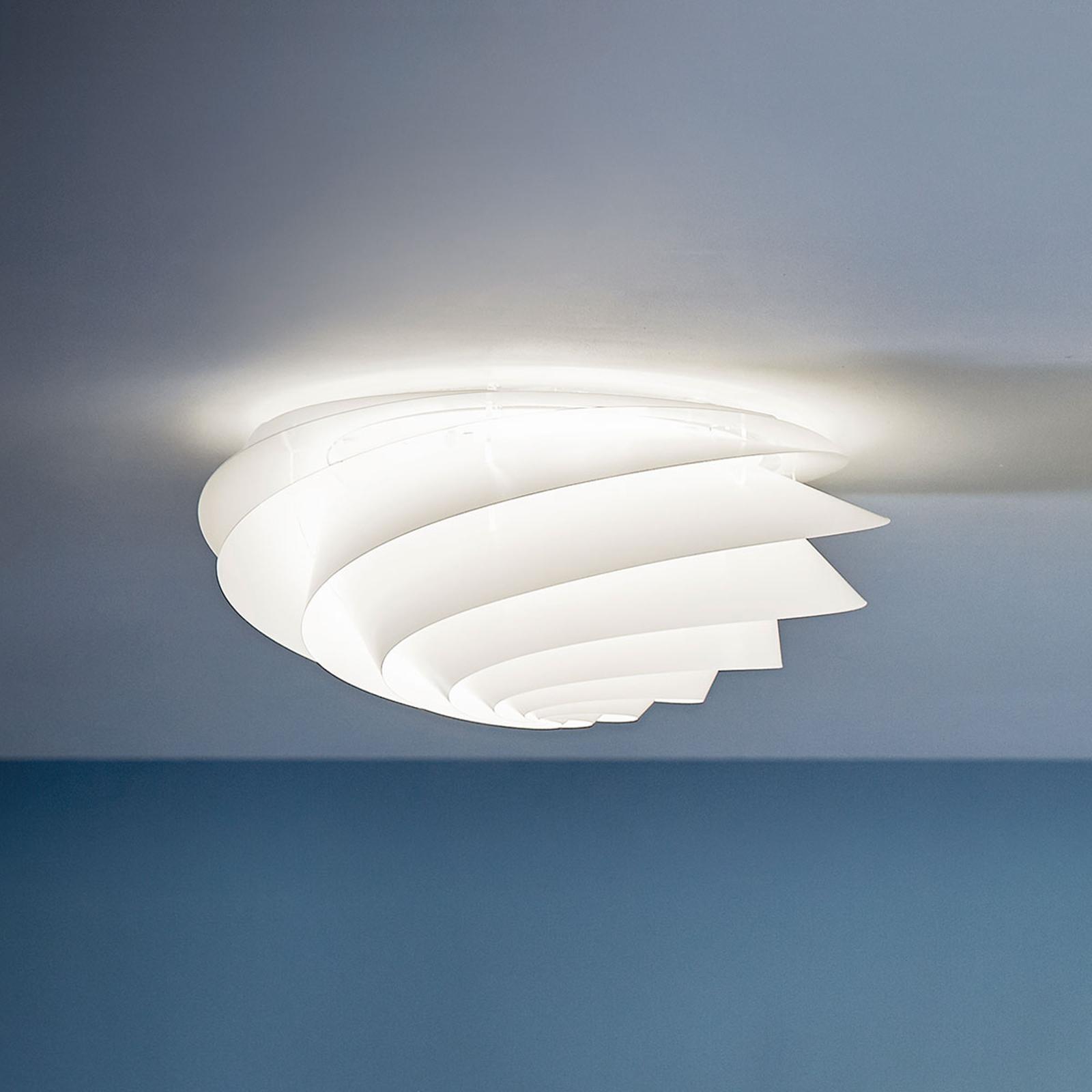 LE KLINT Swirl Small - nástěnné světlo, bílé