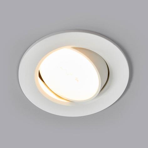 Quentin - lampa LED z oprawą wpuszczaną, biała, 6W