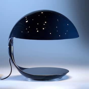 Martinelli Luce Cobra Scorpius bordlampe, blå