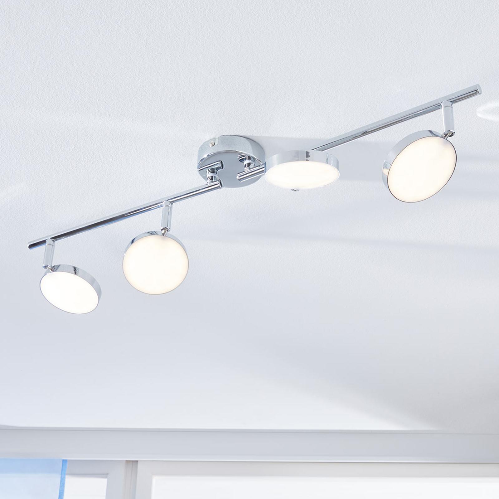 LED Deckenstrahler Keylan, 4 flammig