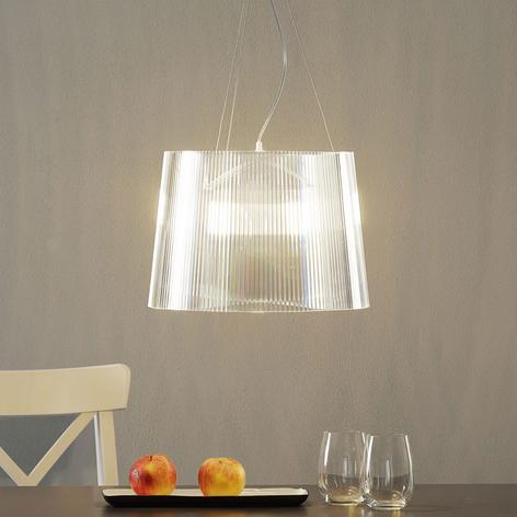 Läpinäkyvä LED-riippuvalo Gè