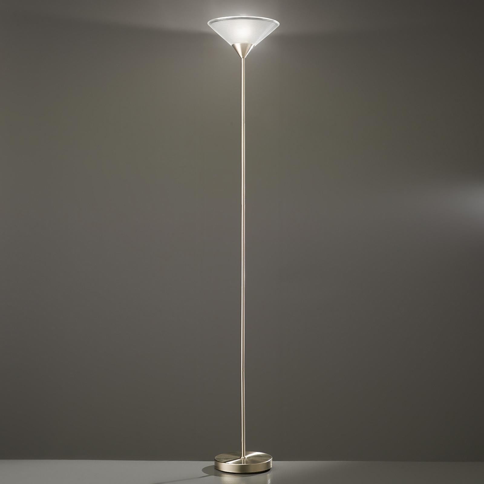 Lampa oświetlająca sufit MERTA z rowkami