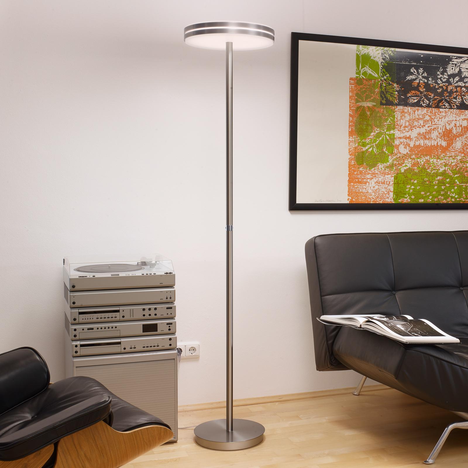 BANKAMP Gem lampadaire LED à variateur tactile