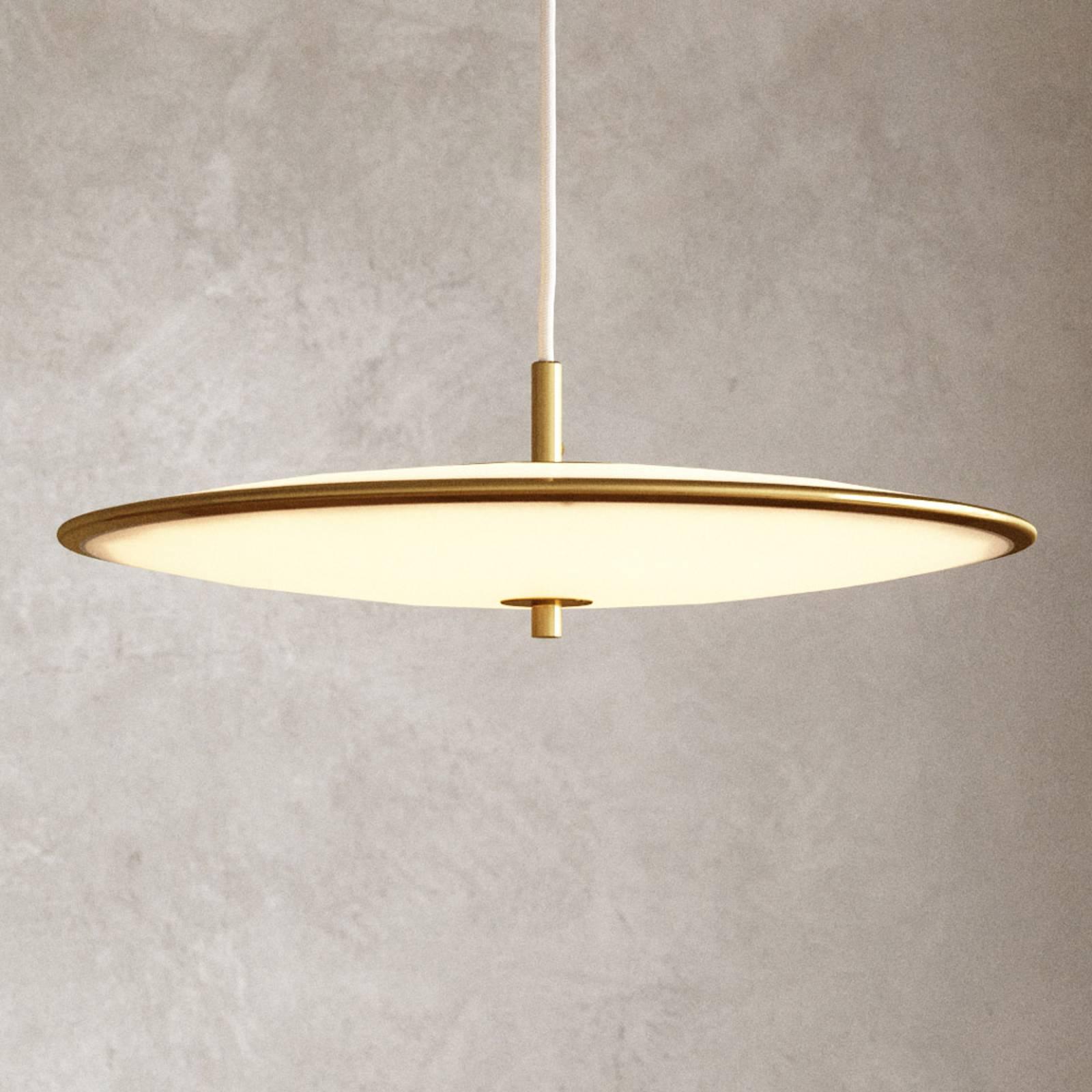 LED-Hängeleuchte Blanche, dimmbar, Ø 42 cm