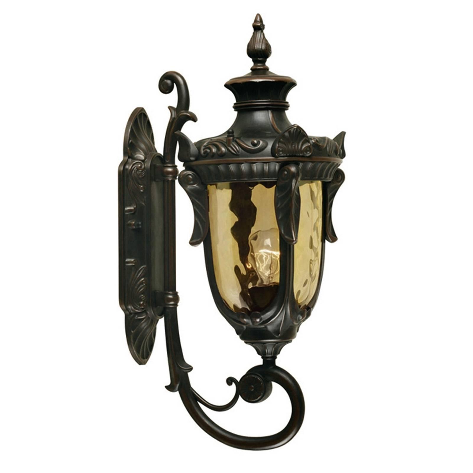 Historische buitenwandlamp PHILADELPHIA, 52,5 cm