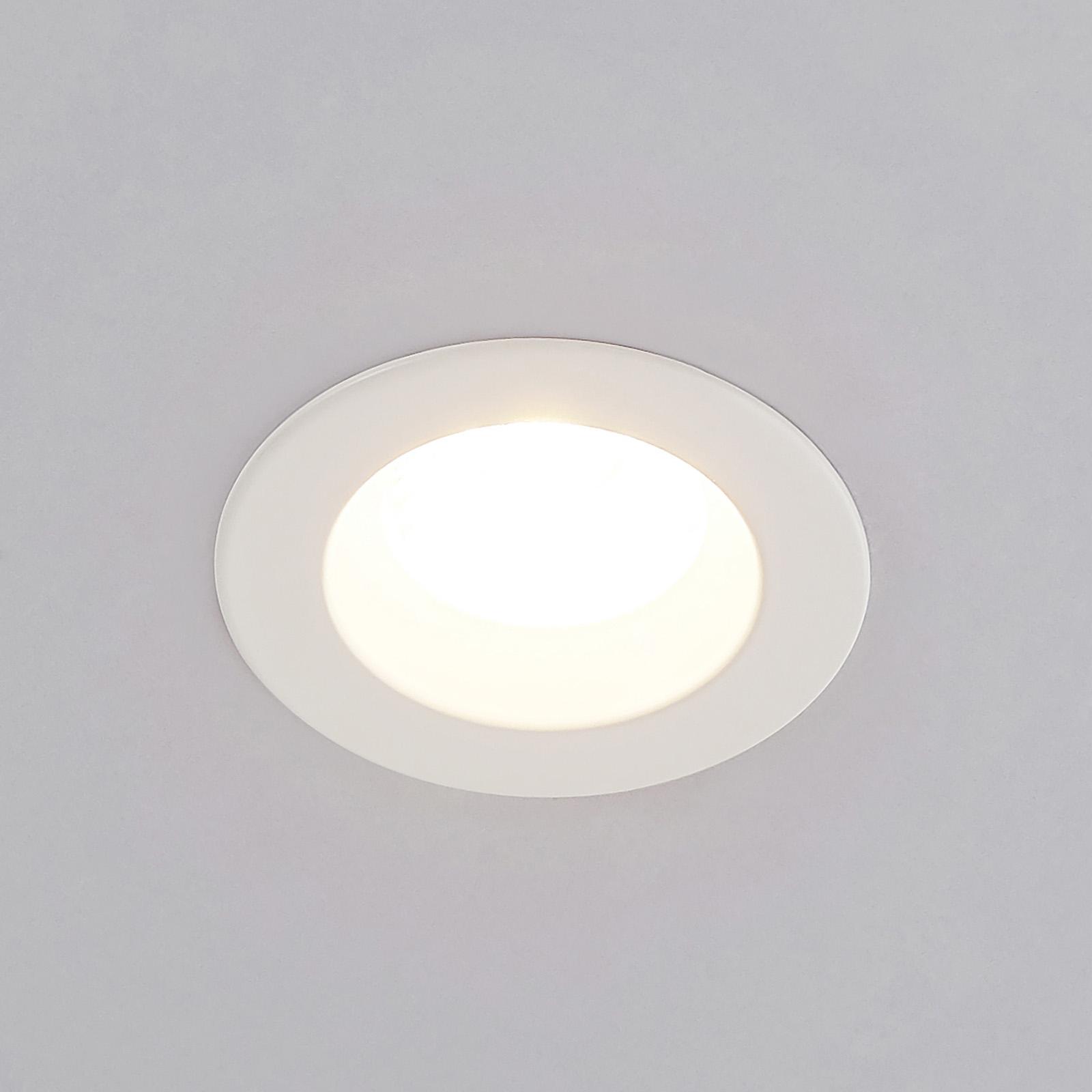 Arcchio Unai LED-Einbaustrahler 2.700K IP65, 6,4W