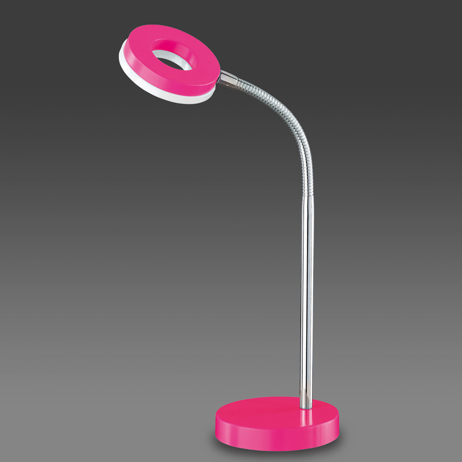 Roze LED tafellamp Rennes