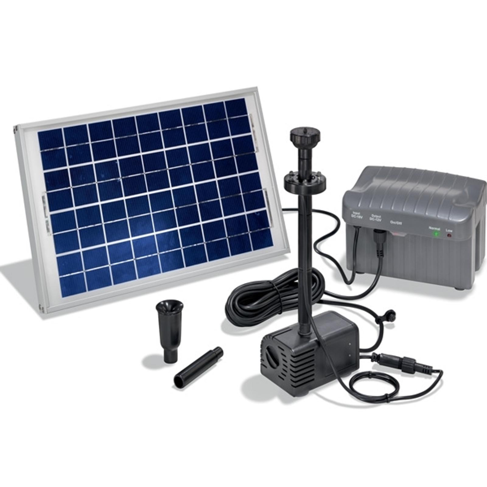 Pompsysteem Sienna met leds, op zonne-energie