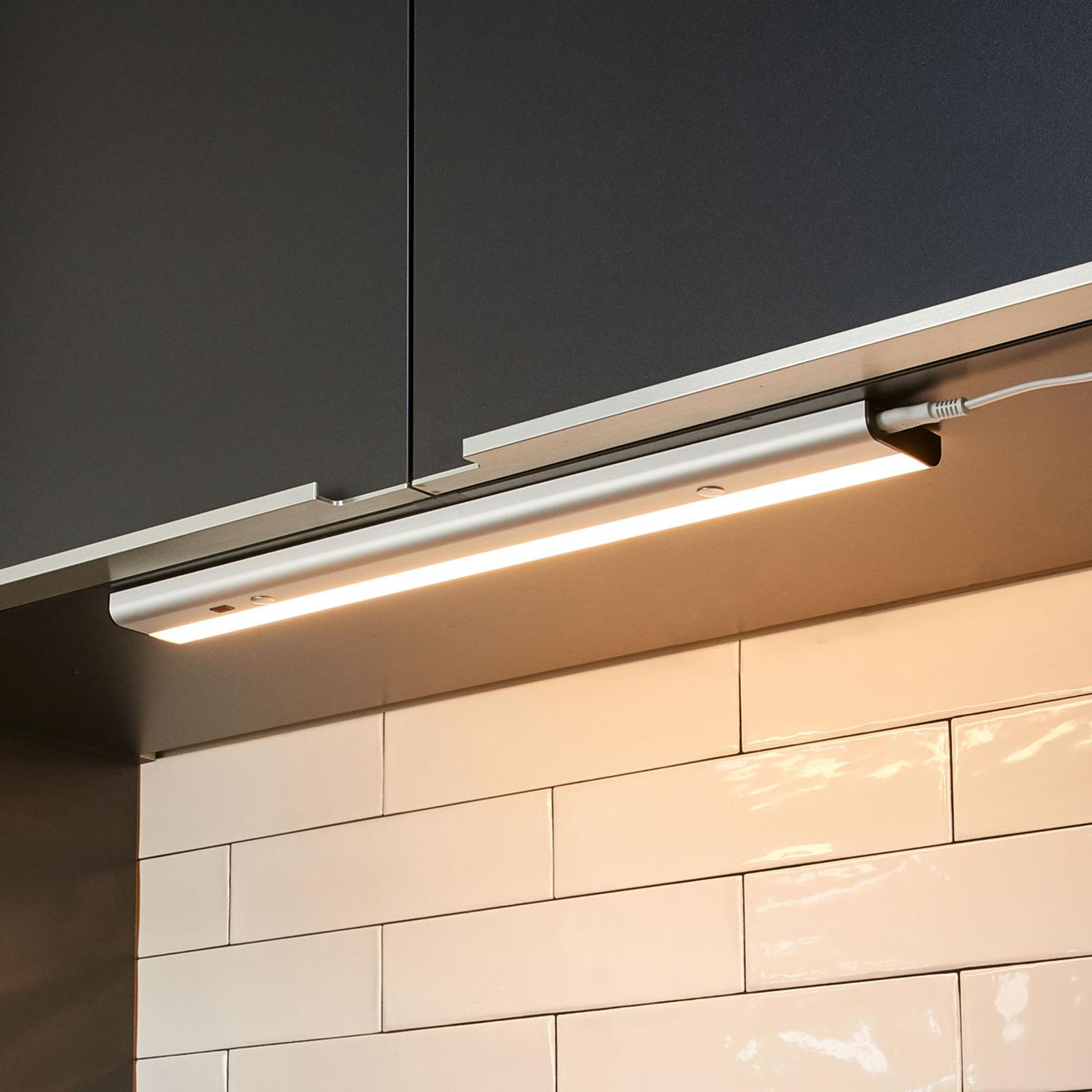 LED-underbyggnadslampa Devin med sensor