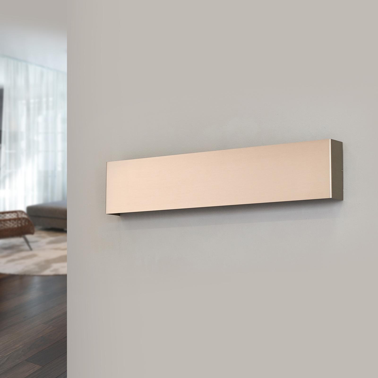 Applique LED Maja aspect nickel 54 cm