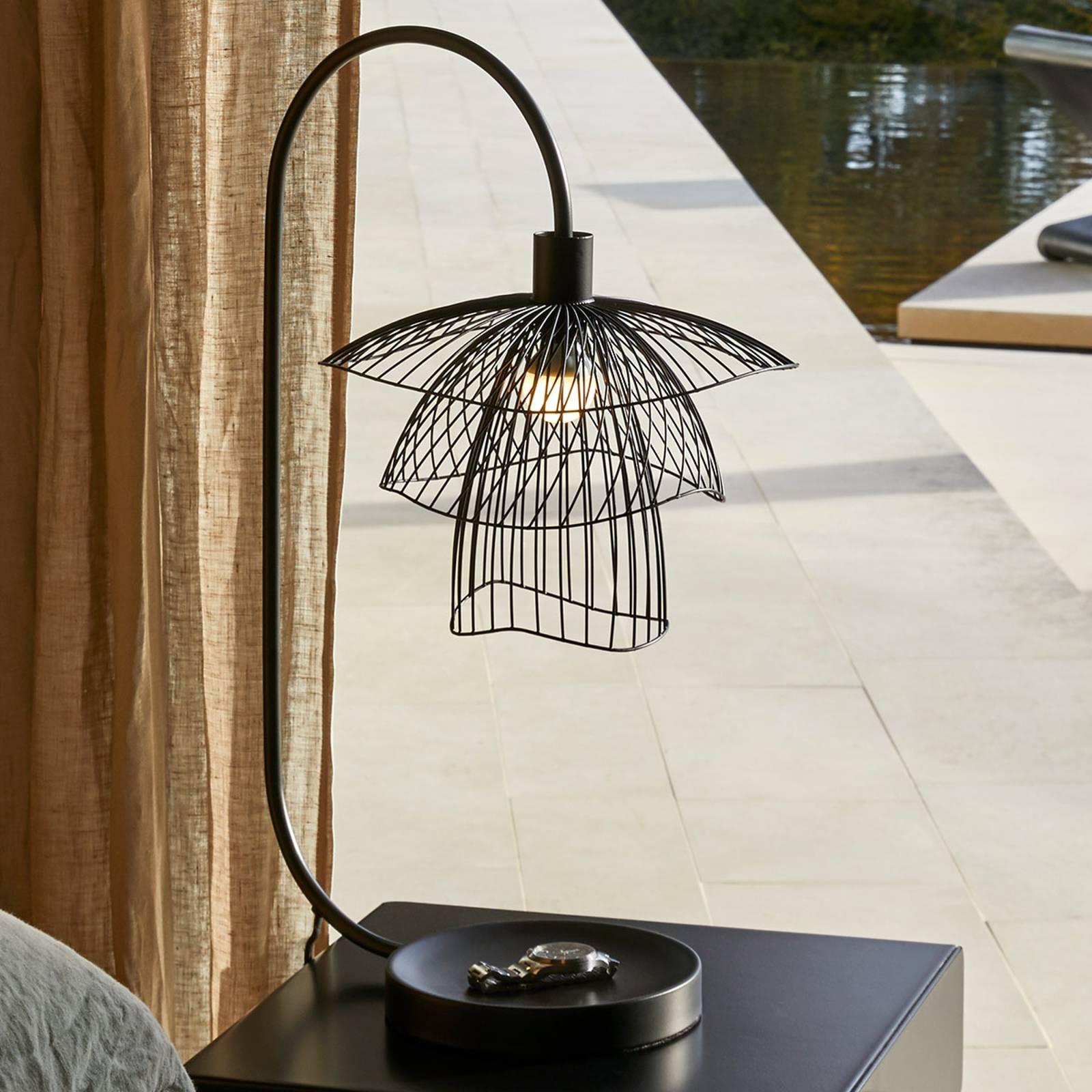 Forestier Papillon XS Tischleuchte schwarz