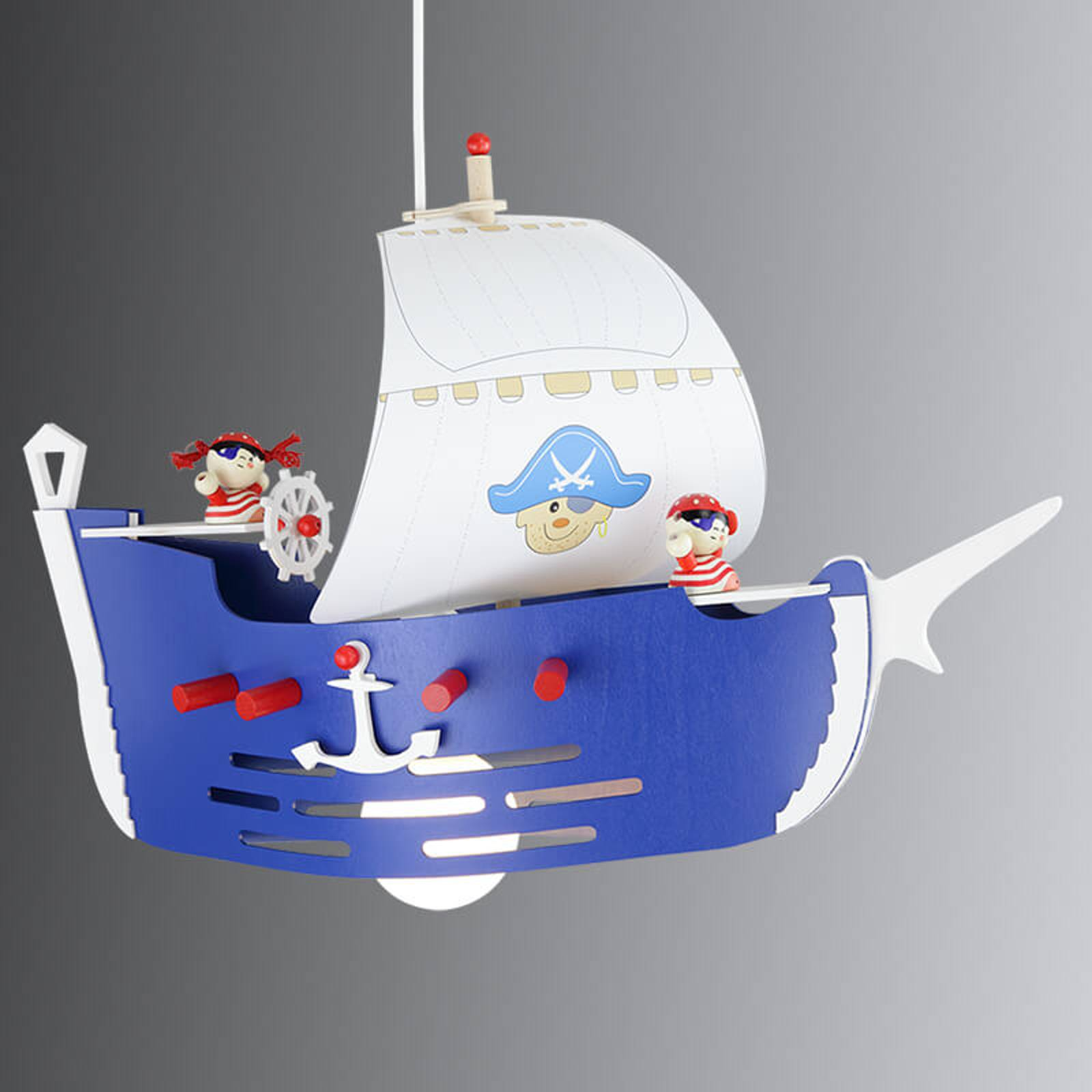 Hängeleuchte Piratenschiff fürs Kinderzimmer