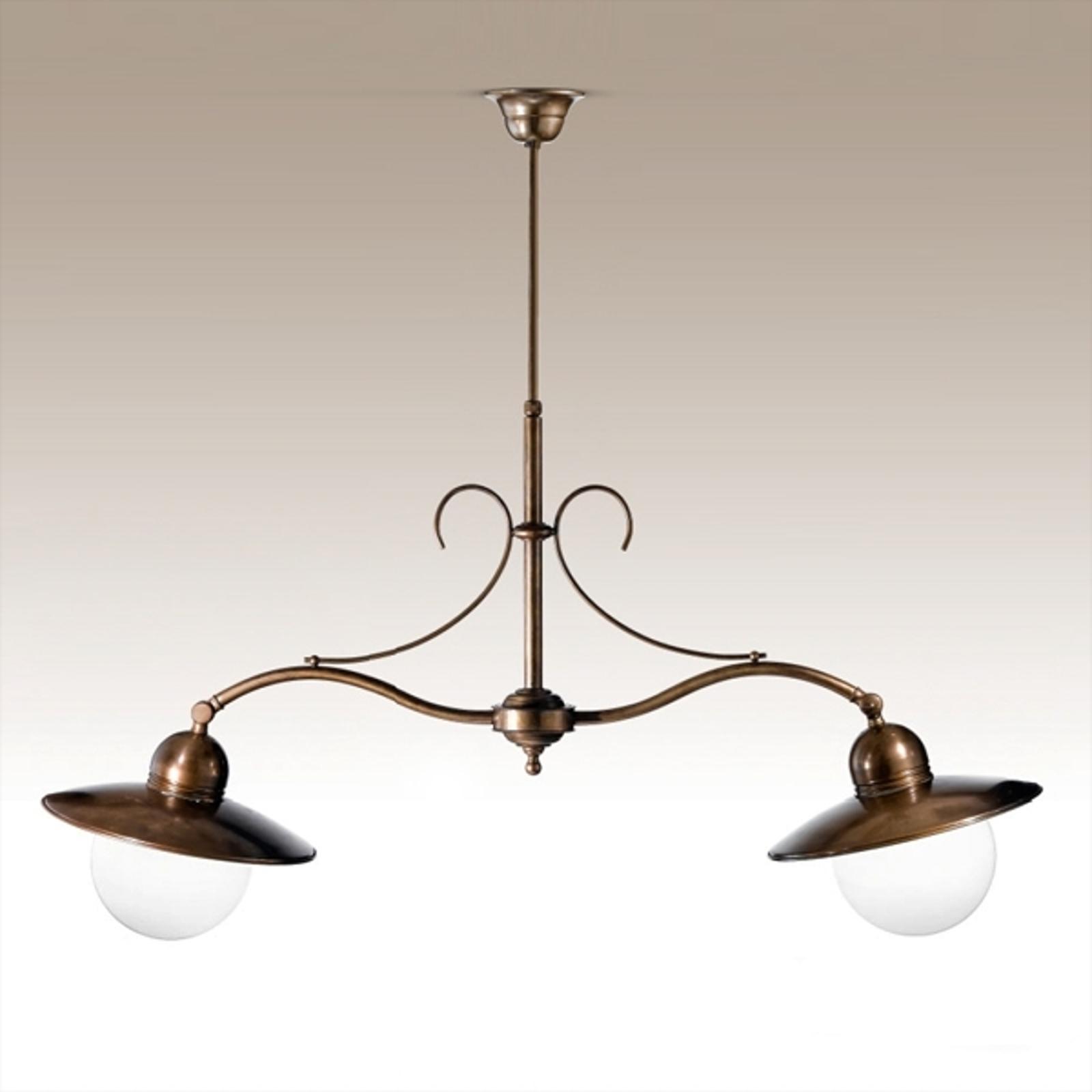 Lámpara colgante de 2 luces Taverna