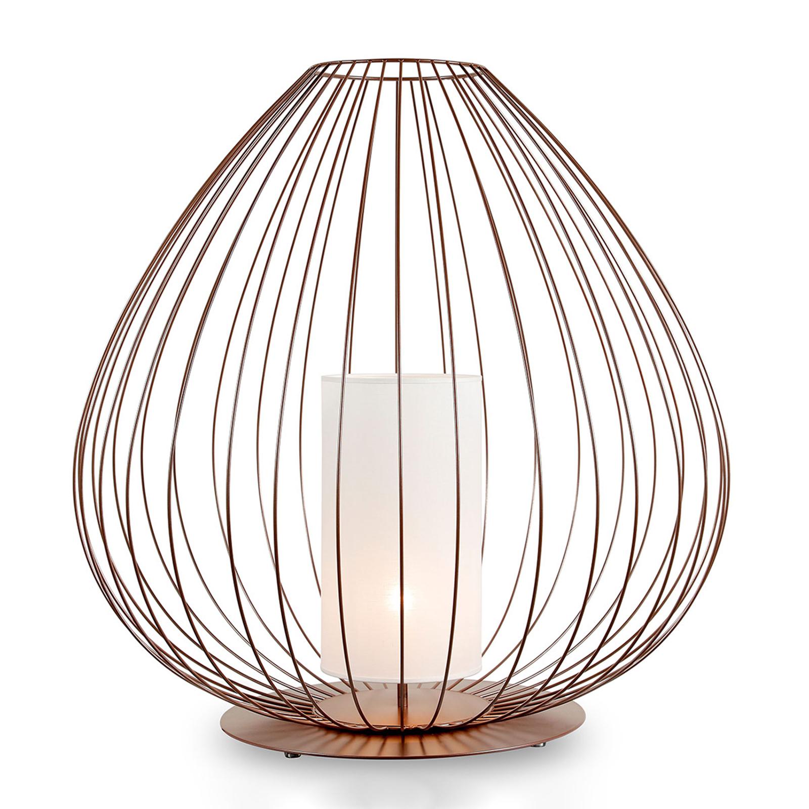 Karman Cell - vloerlamp met kooi, Ø57cm, brons