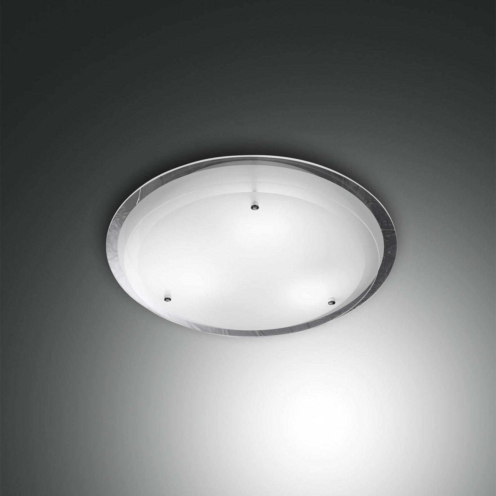Intemporal lámpara de techo Hill con vidrio, 33 cm