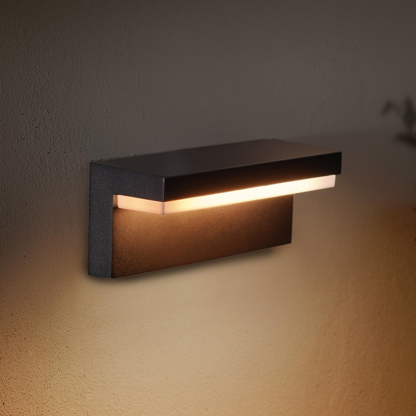 Philips Hue WACA Nyro LED-Außenwandleuchte schwarz