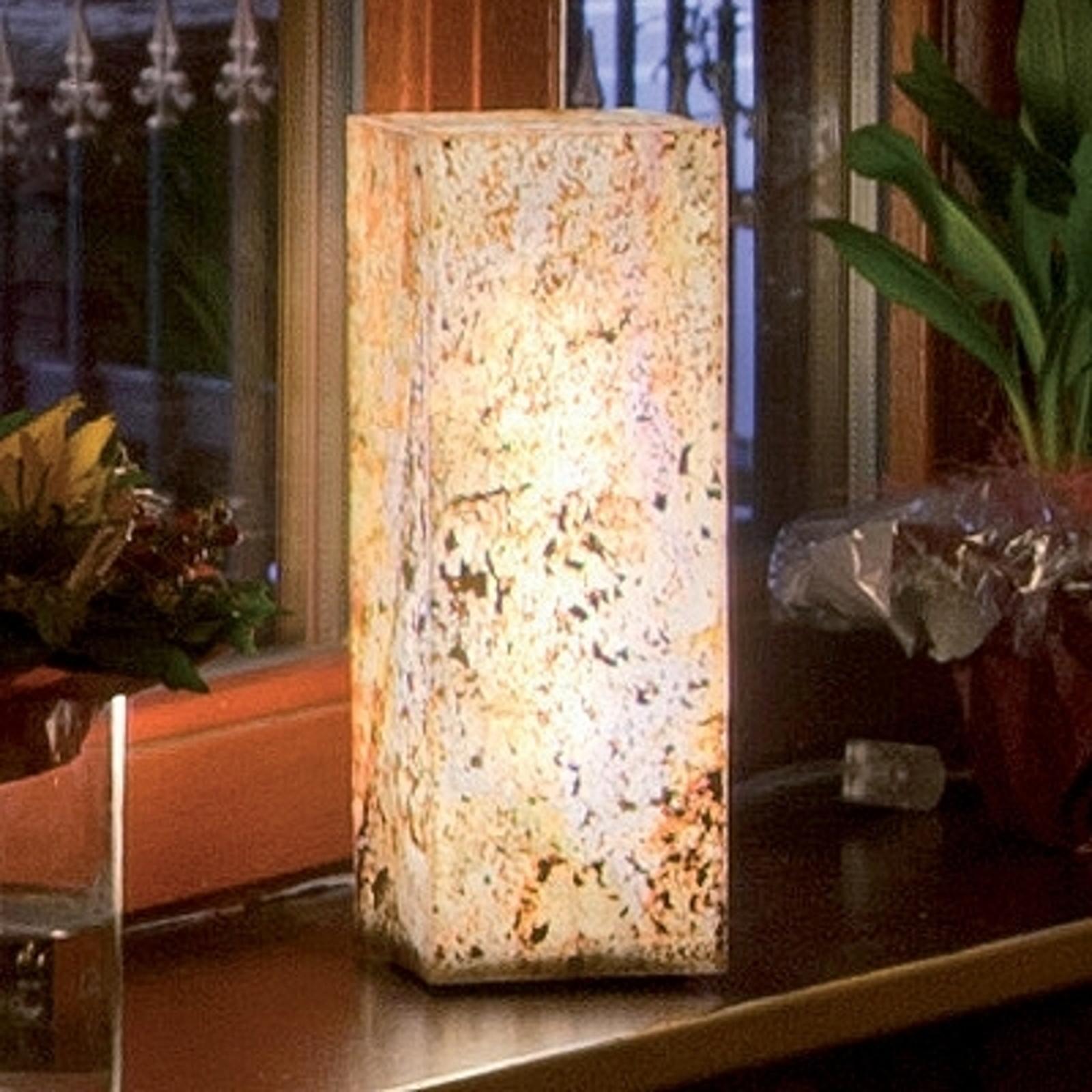 Ljusspelare av hög kvalitet i naturskiffer höjd 25