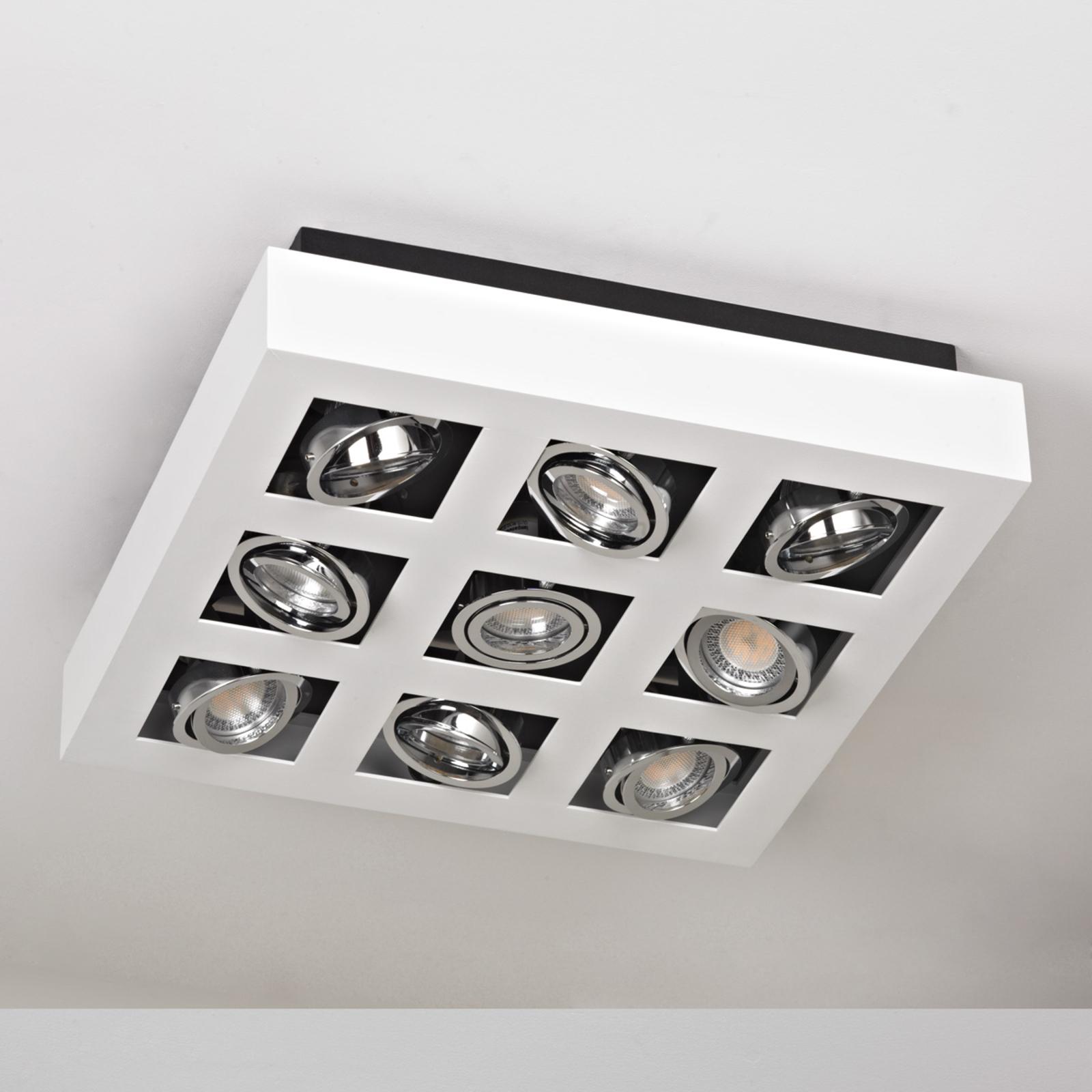 neun lampen für wohnzimmer led