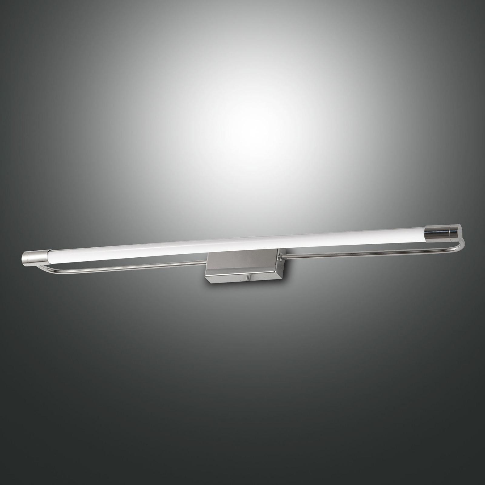 Applique LED Rapallo, chromée, IP44, 60cm