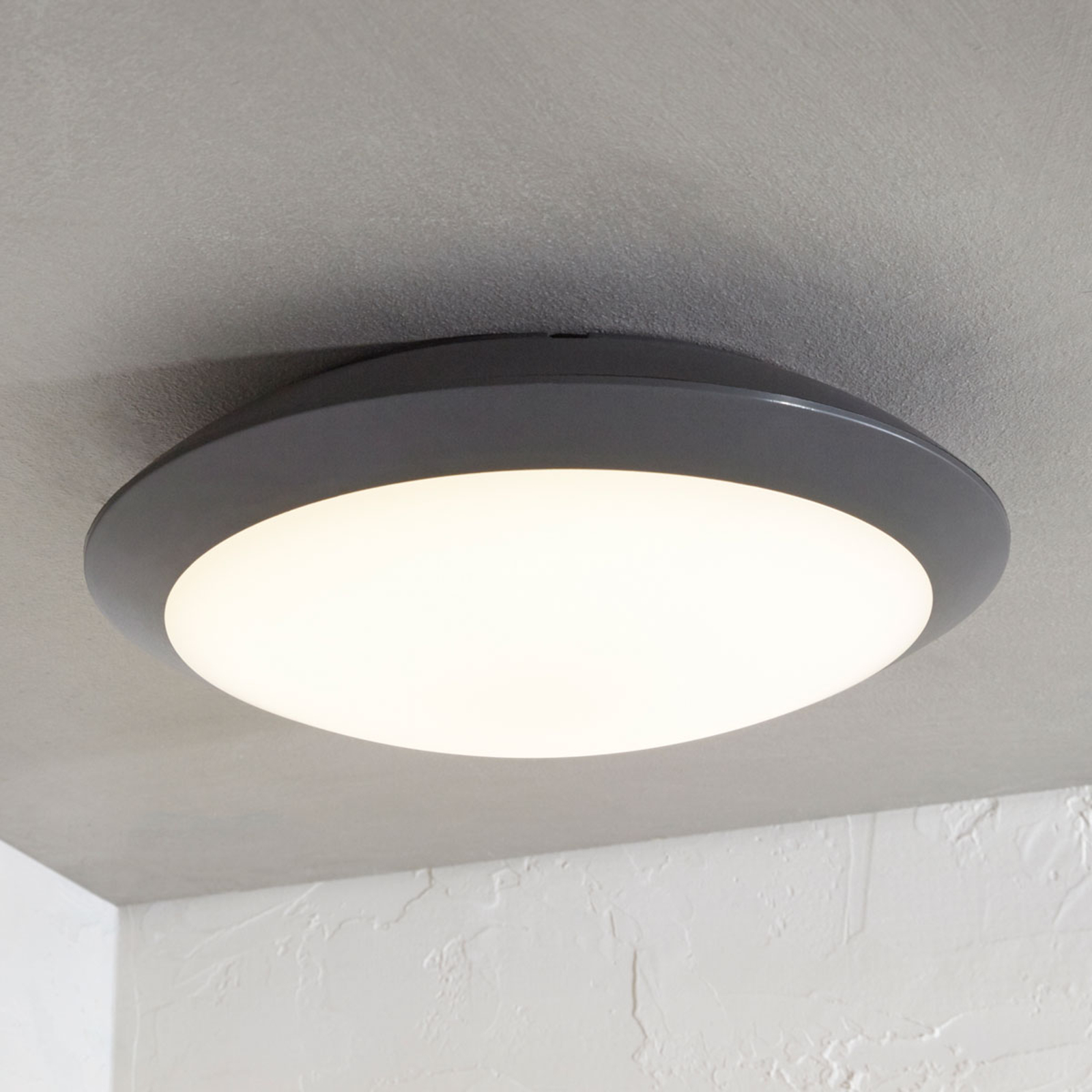 Naira LED outdoor ceiling lamp grey without sensor_9949018_1