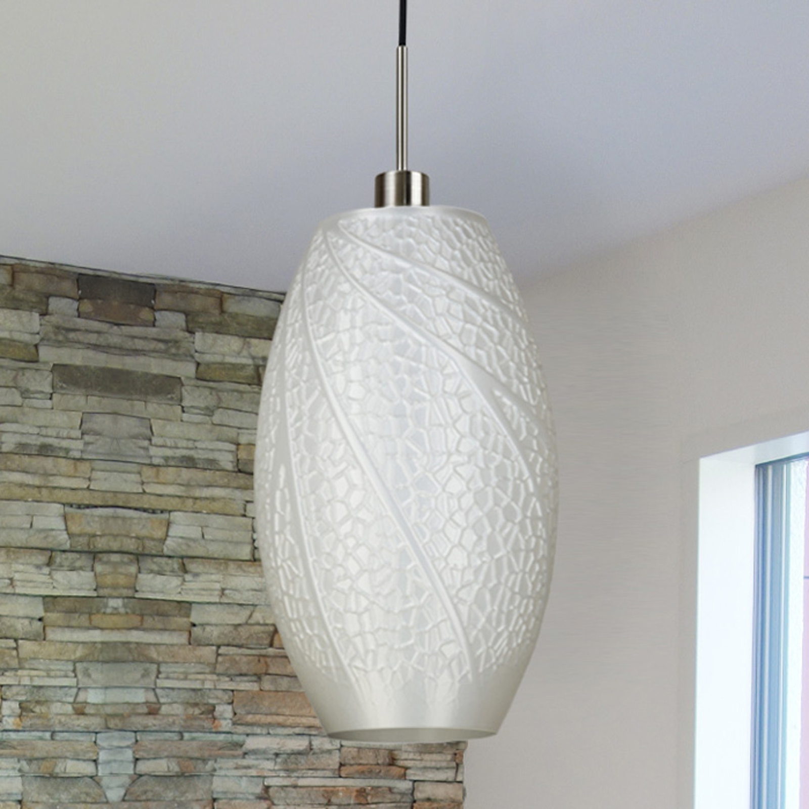 Flora - design-hanglamp van de 3D-printer