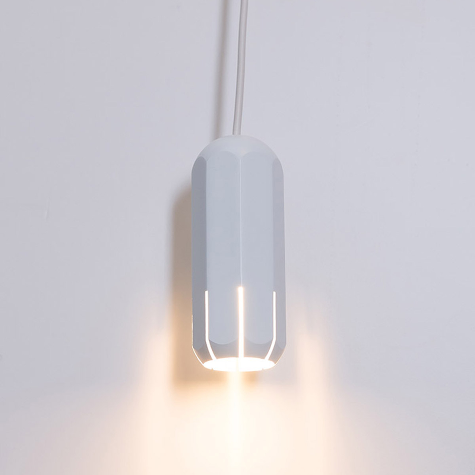 Innermost Brixton Spot 11 LED-hengelampe, hvit