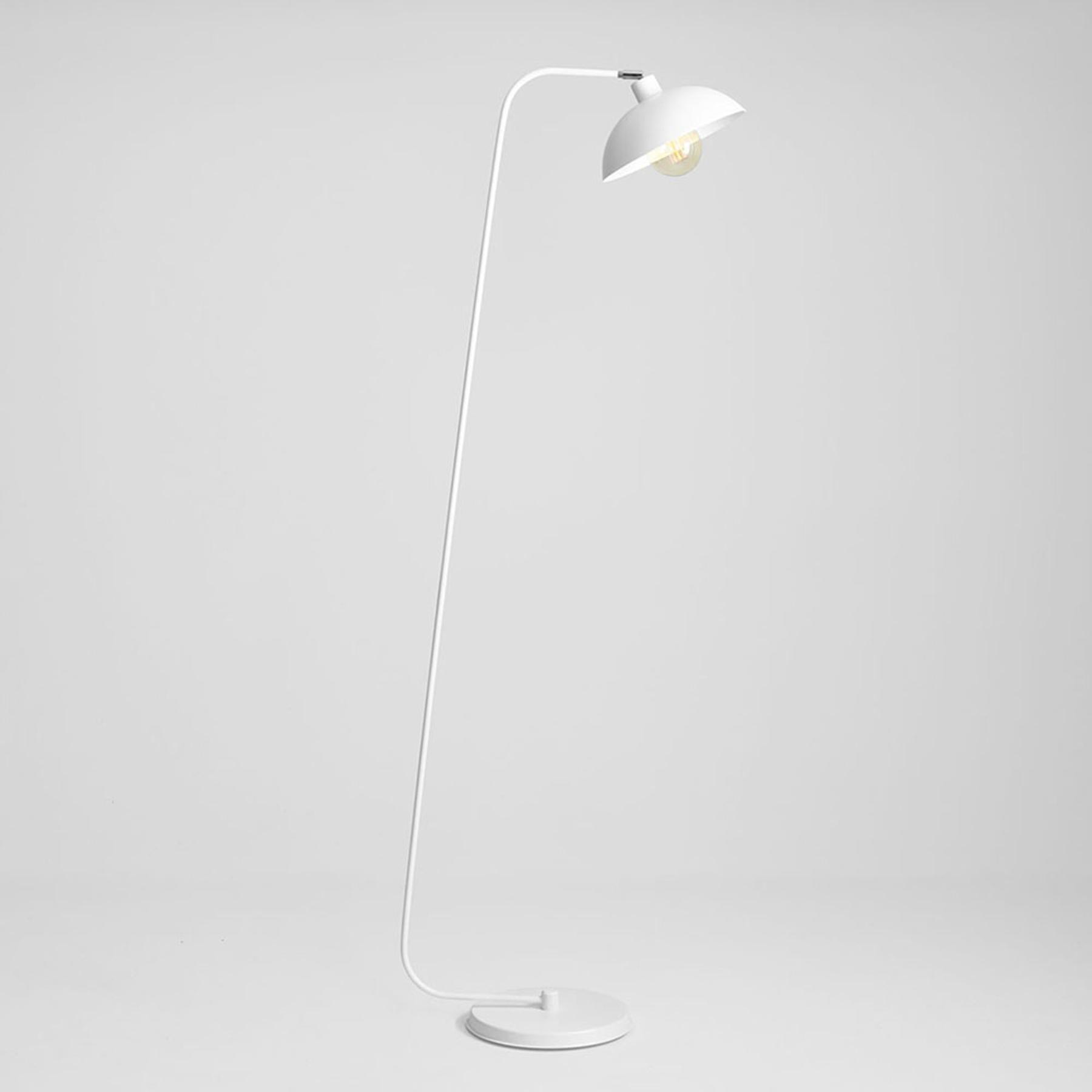Vloerlamp 1036, 1-lamp, wit