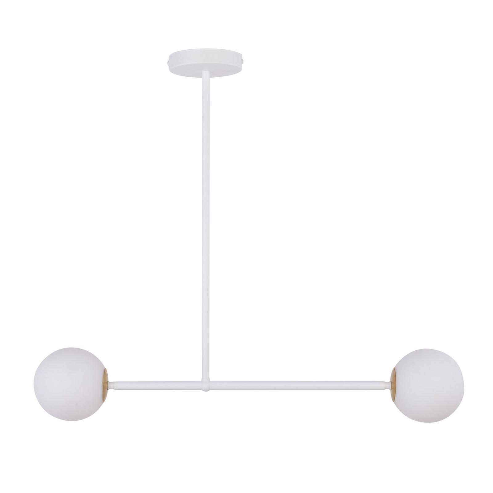 Gama 2 hængelampe, 2 lyskilder, hvid
