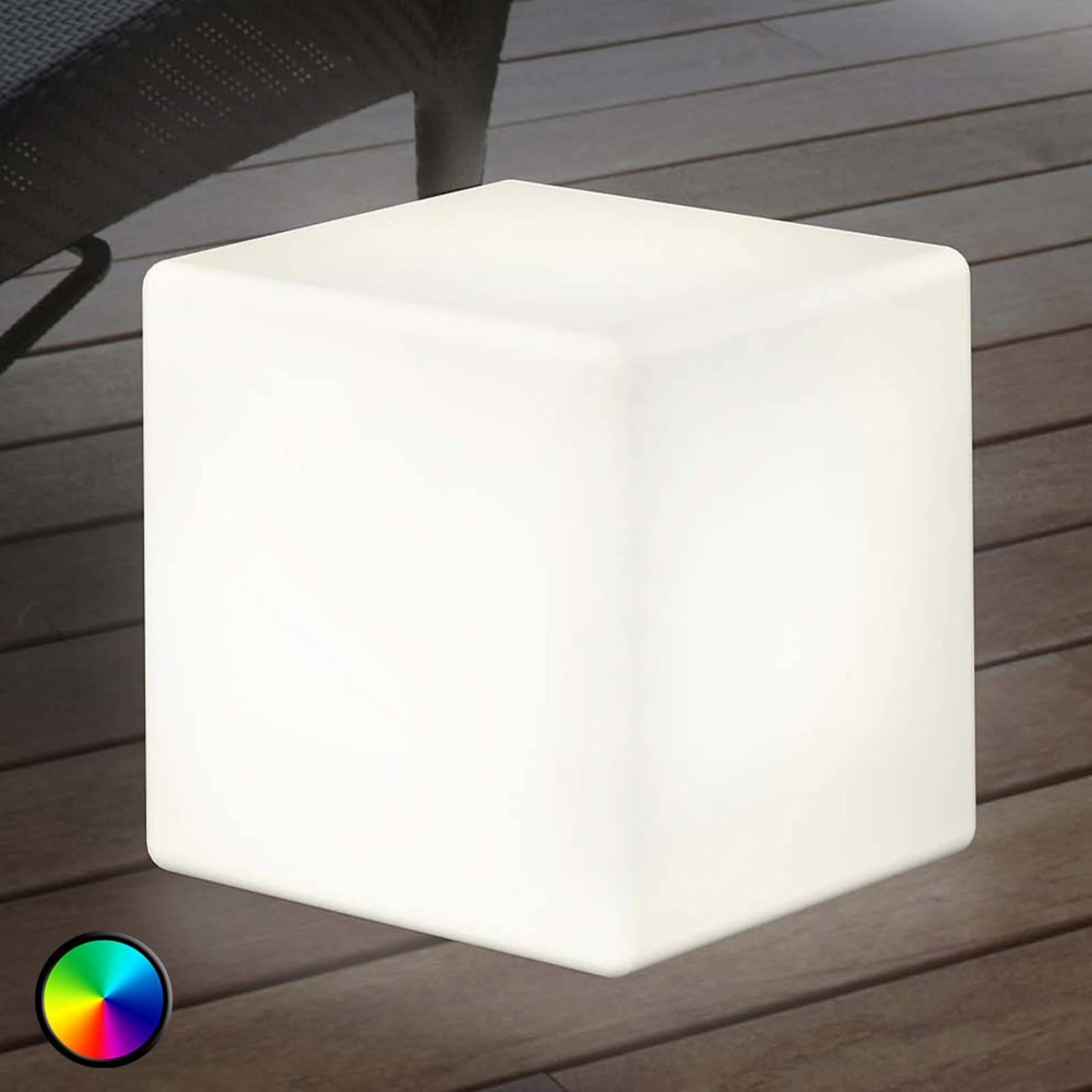 Bilde av Utendørs Led-dekorasjonslampe Shining Cube 43 Cm