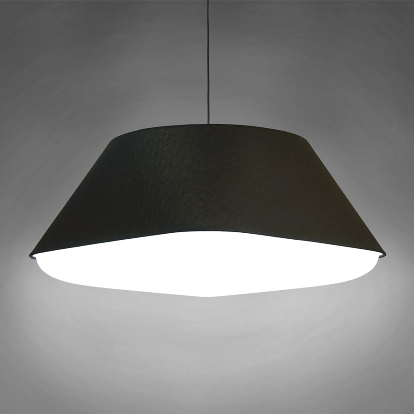 Innermost RD2SQ 60 -tekstylna lampa wisząca czarna
