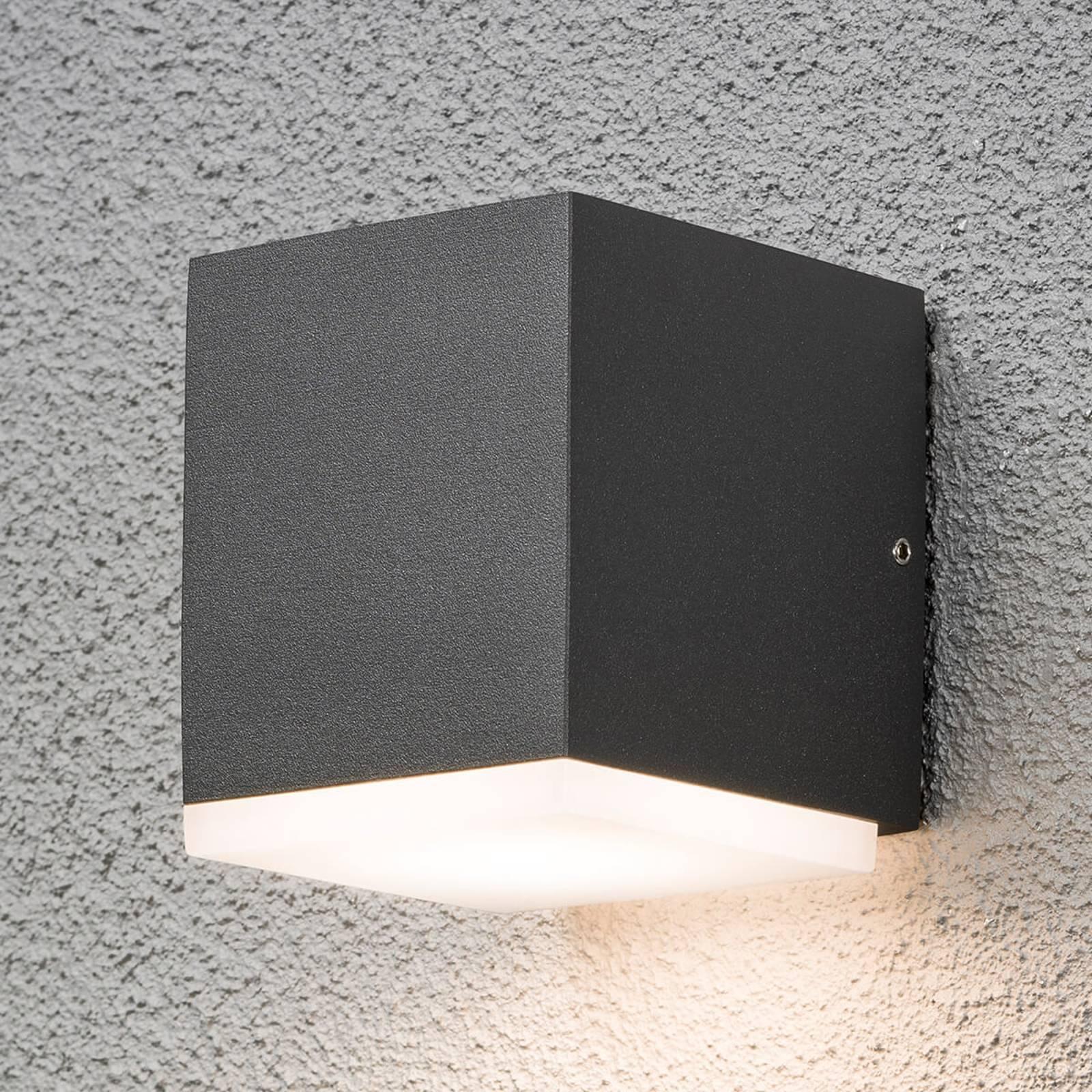 LED-Außenwandleuchte Monza quadratisch 1fl.