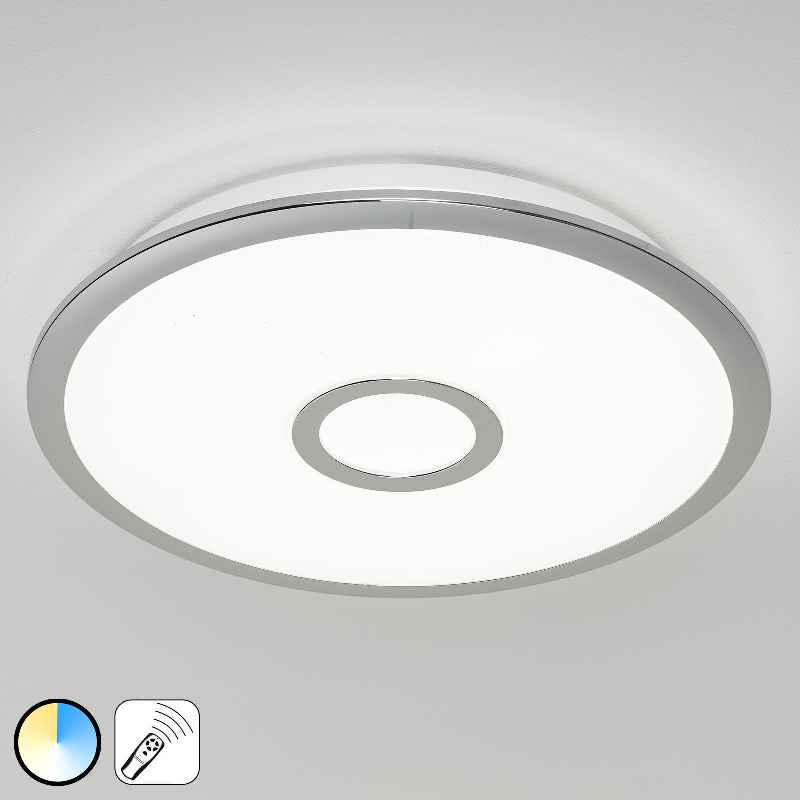 Plafoniera LED Osaka con funzione Memory