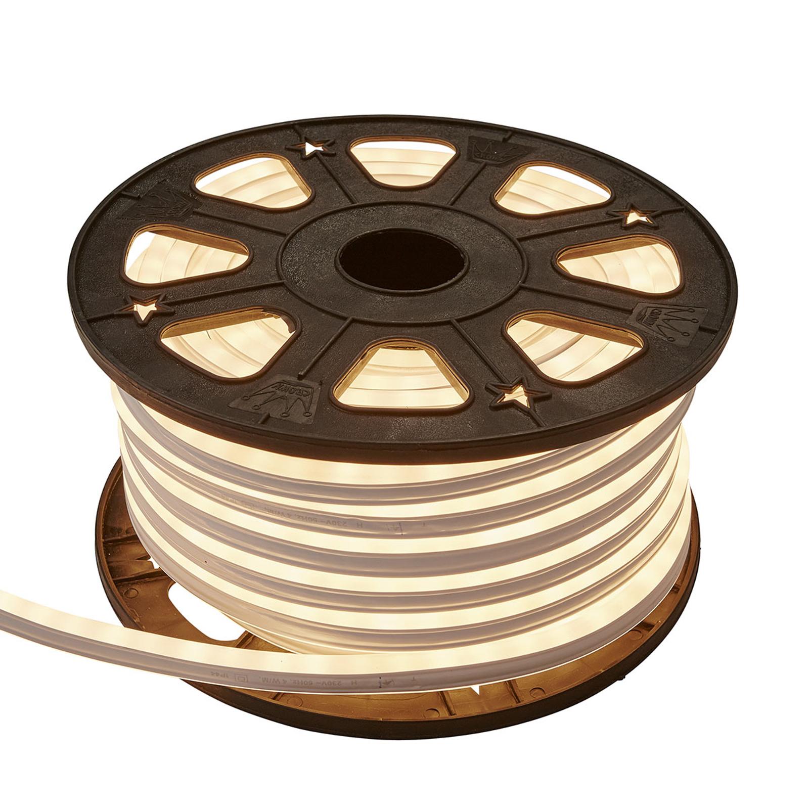 LED-lysslange NeoLED Reel varmhvit