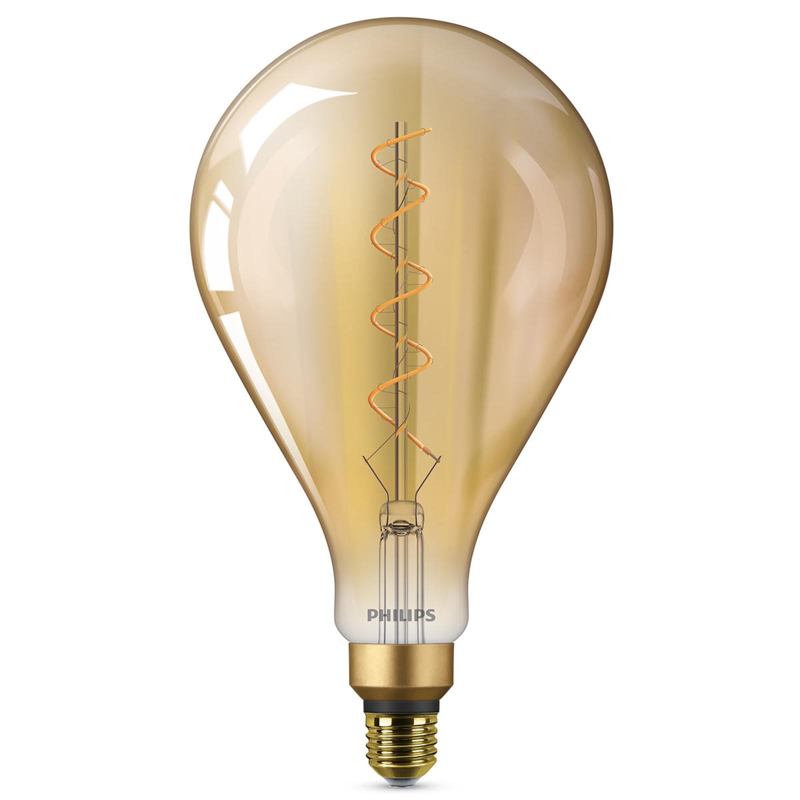 E27 5W LED-Lampe Giant, warmweiß, gold