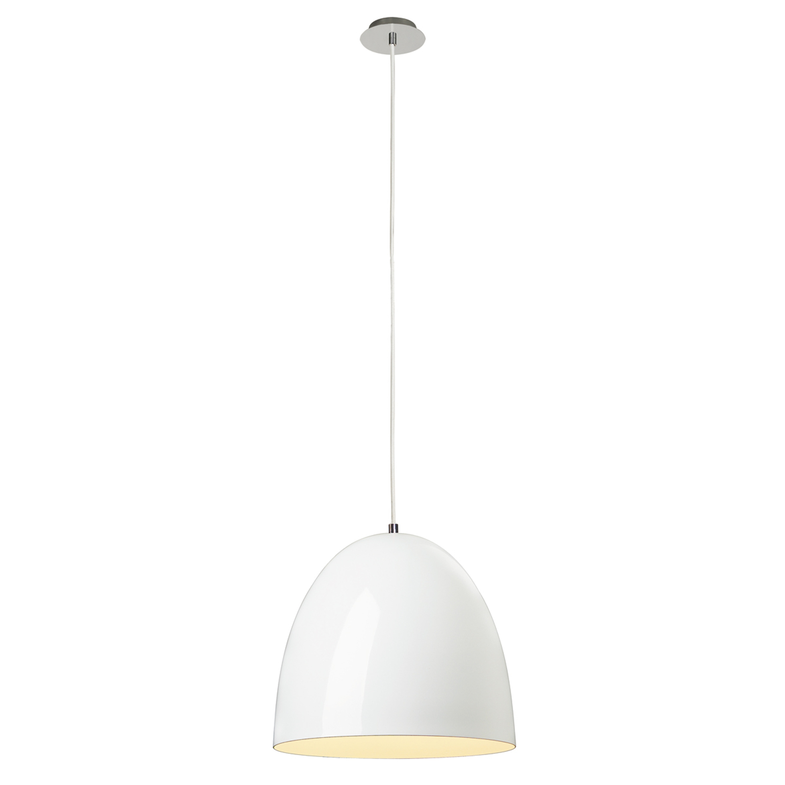 Smaakvolle hanglamp PD115, wit