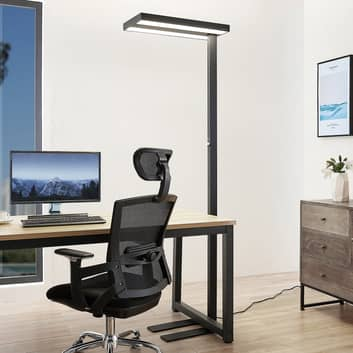 Arcchio Nelvana LED-Sensor-Stehlampe, schwarz