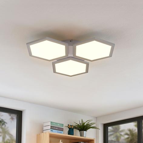 LED-Deckenleuchte Leas, dimmbar, CCT, 3-flammig