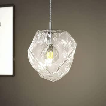 Lucande Valina závěsné světlo ze skla, 1 zdroj