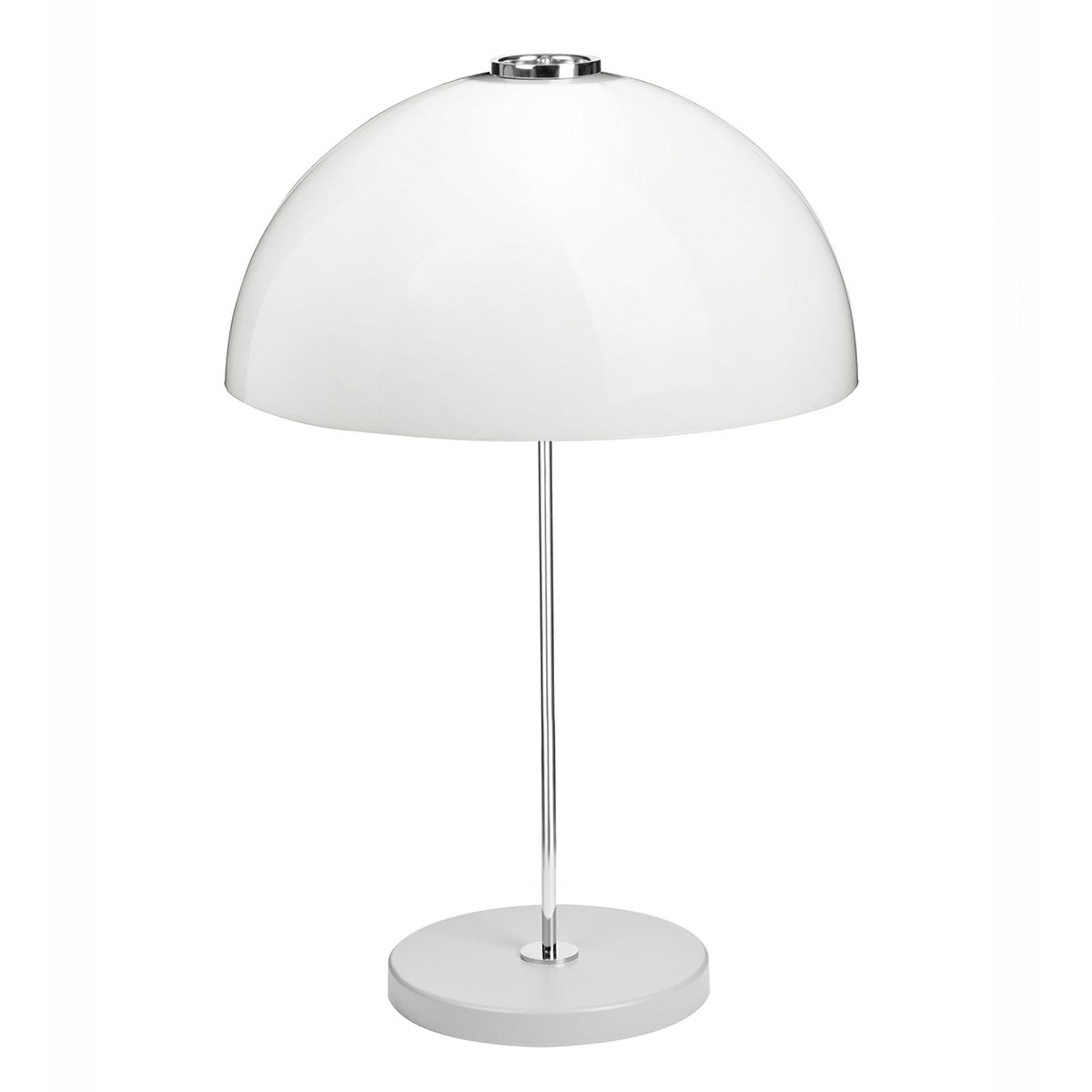 Innolux Kupoli lampada da tavolo base grigia