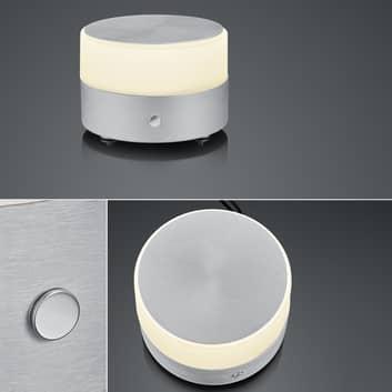 BANKAMP Button lámpara de mesa LED, dimmer táctil