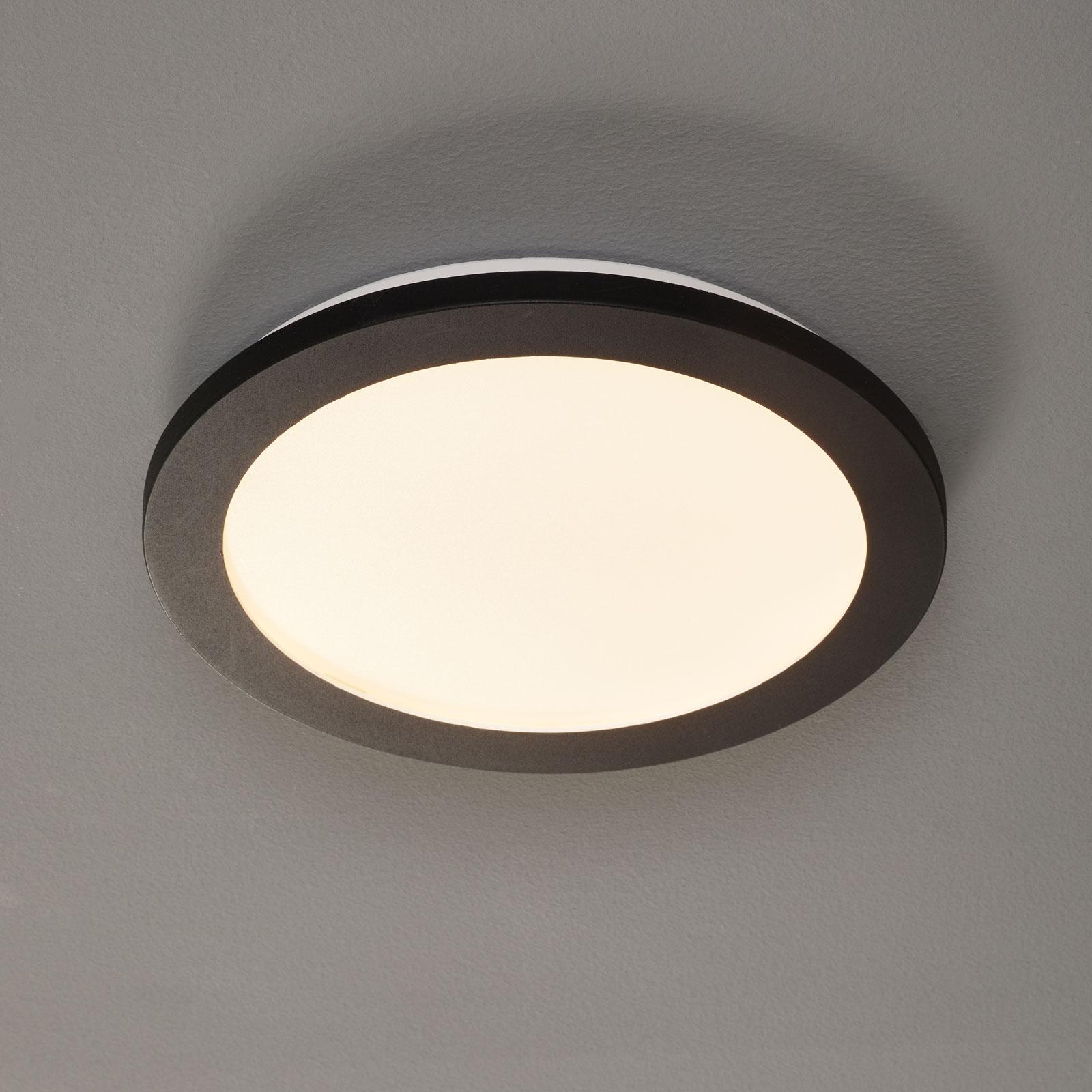 LED-taklampe Camillus, rund, Ø 26 cm